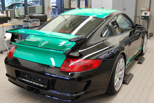 Porsche-Ansichthinten