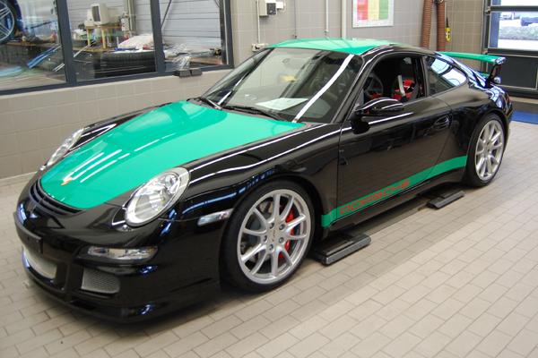 Porsche-Ansichtvorne